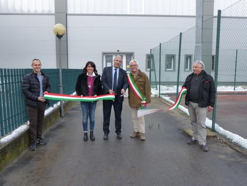 Dopo gli importanti lavori di ristrutturazione, inaugurata a Morozzo la palestra comunale