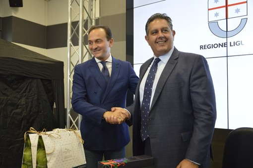 Alberto Cirio e Giovanni Toti