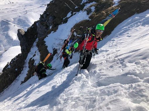 Coronavirus, annullata la Winter Rescue Race, sfida sulla neve tra 52 squadre di soccorso alpino ad Artesina