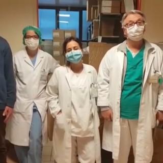 """""""Grazie per la generosità che ci sta travolgendo"""": il videomessaggio dell'ospedale Santa Croce e Carle di Cuneo"""