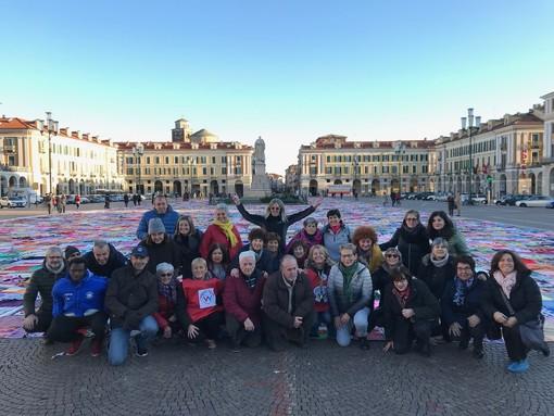 Spettacolo di colori in piazza Galimberti: ecco chi ha reso possibile il bellissimo progetto Viva Vittoria a Cuneo