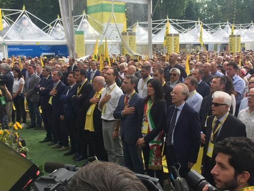 Coldiretti a Torino invaso da cittadini torinesi e da turisti italiani e stranieri