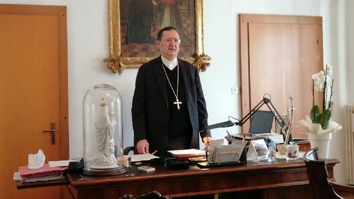 Monsignor Cristiano Bodo, vescovo di Saluzzo