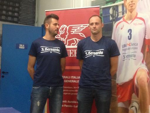 Flavio Cefaratti insieme a coach Pezzoli