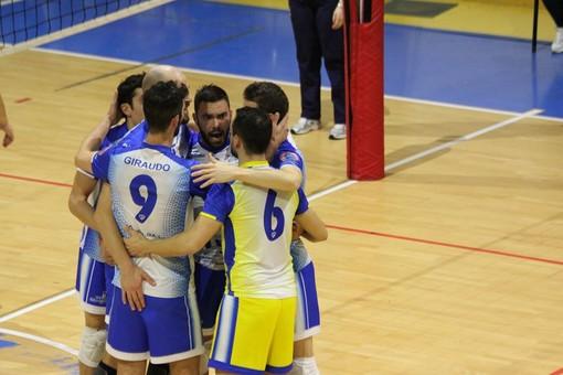 Volley maschile Serie B - Il Gerbaudo Savigliano vince ancora, 3-0 al Sant'Anna Tomcar