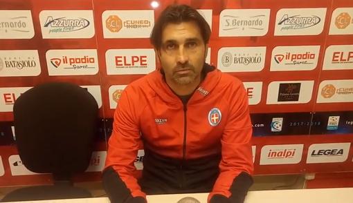 """Serie C - Un punto per Viali nel giorno del suo ritorno a Cuneo, l'allenatore del Novara a fine partita: """"Abbiamo provato a vincerla..."""" (VIDEO)"""