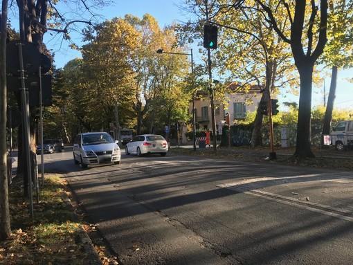 Viale degli Angeli a Cuneo: dalle 9 ogni giorno torna pedonale, puntualissima la chiusura al traffico