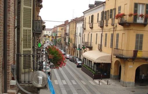 Via Roma a Fossano