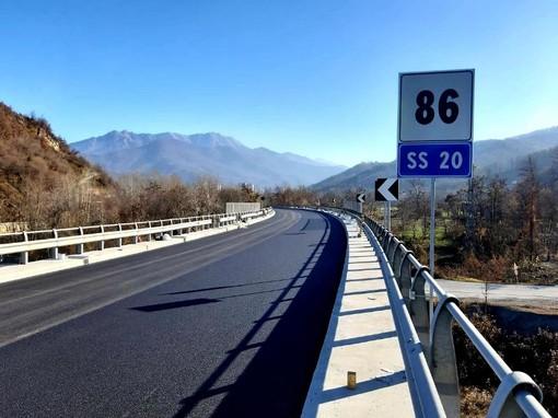 Colle di Tenda e Val Roja: proseguono fino all'11 dicembre i lavori sui viadotti Dormiosa e Tetti Ghigo