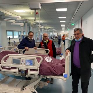 """Cirio e Icardi in visita all'ospedale di Verduno: """"In settimana l'apertura dei primi 30 posti-letto"""""""