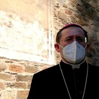 Il vescovo della Diocesi di Saluzzo Cristiano Bodo