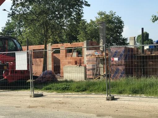Cuneo avrà la velostazione: lavori in corso vicino alla Casa del fiume (FOTO)