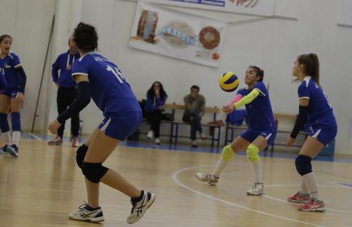 Volley femminile U14 - Saluzzo cede al tie-break contro Montà