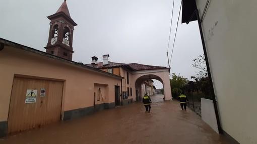 Violentissimo temporale a Saluzzo, decine le chiamate ai vigili del fuoco (foto e video)
