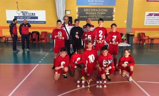Calcio giovanile: sipario sul 1° Torneo Indoor Città di Busca, tutti i vincitori