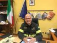 L'ingegner Vincenzo Bennardo, comandante provinciale dei Vigili del Fuoco