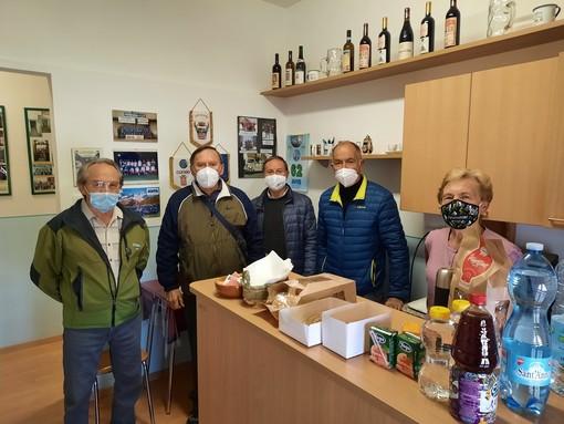 Il direttivo Avis di Borgo San Dalmazzo alla giornata di donazione