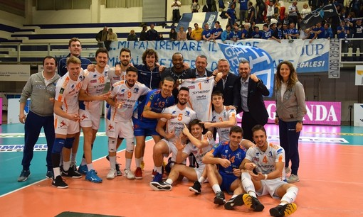 """Volley maschile A2 - Mondovì batte Brescia e fa cinque di fila, Barbiero: """"Tappa importante del nostro percorso"""""""