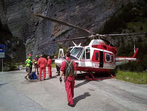 Recuperati in buone condizioni i due ventenni francesi bloccati in alta Valle Stura