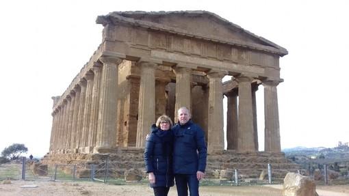Anche nella Valle dei Templi a Agrigento si legge Targatocn.it ....e voi?